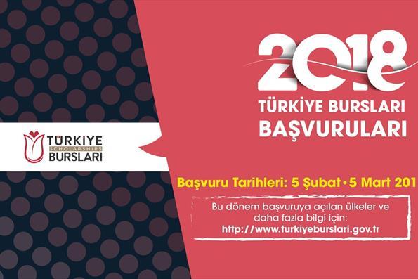 Türkiye Bursları 2018 2. Dönem Başvuruları Başladı