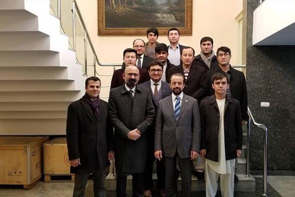 Afganistan Türkiye Mezunları Derneği Kabil Büyükelçiliğini Ziyaret Etti