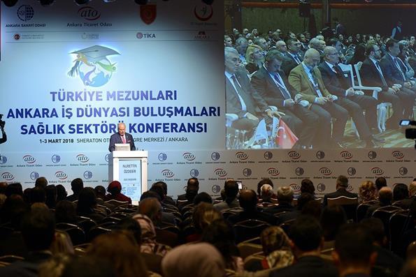 Sağlık Sektöründeki Türkiye Mezunları Ankara'da Buluştu