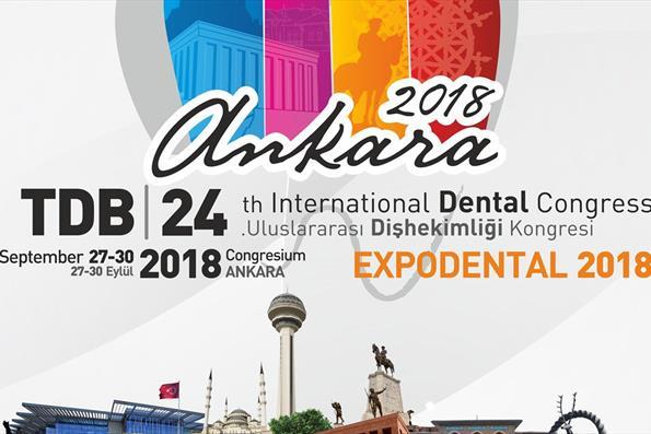 Türk Diş Hekimleri Birliği 24. Uluslararası Diş Hekimliği Kongresi'ne Davet