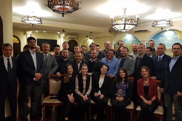 Türkiye Mezunları Rusya Kazan'da Düzenlenen İftar Programında Buluştu