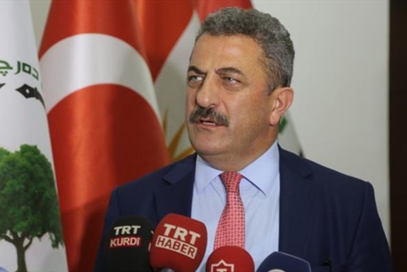 YTB Heyeti Erbil'de Türkiye Mezunları ile Bir Araya Geldi