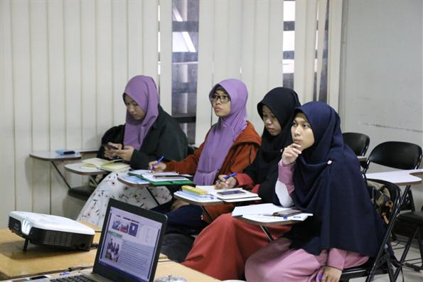 Endonezya'da Türkçe Kursuna Yoğun İlgi
