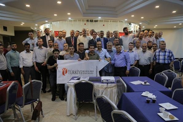 Gazze'de Türkiye Mezunları İftarı