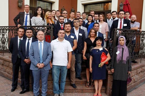 Ukrayna'da Türkiye Mezunları Buluştu