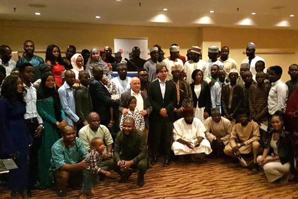 Nijeryalı Türkiye Mezunları Başkent Abuja'da Buluştu