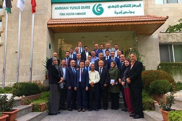 Türkiye Mezunları Ürdün'ün Başkenti Amman'da Buluştu