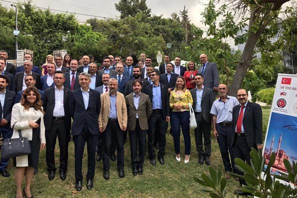 Lübnan'da Türkiye Mezunları Buluştu