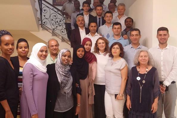 Türkiye Mezunları Cibuti'de Bir Araya Geldi