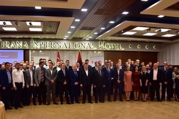 Türkiye Mezunları Arnavutluk'ta Buluştu