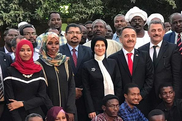 Türkiye Mezunları Sudan'da Buluştu
