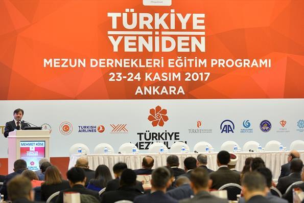 Türkiye Mezunları Dernekleri Eğitim Programı Ankara'da Başladı